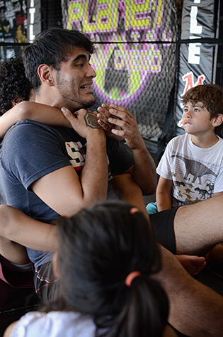San Diego Combat Academy - Instructors - Manuel Garcia